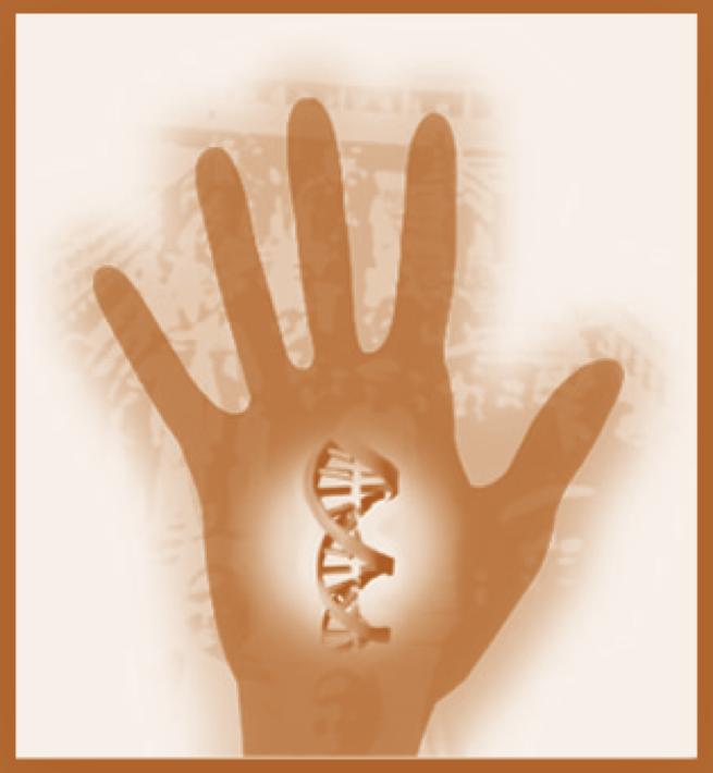 hand dna
