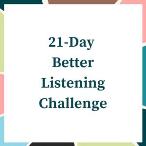 Better Listening Challenge